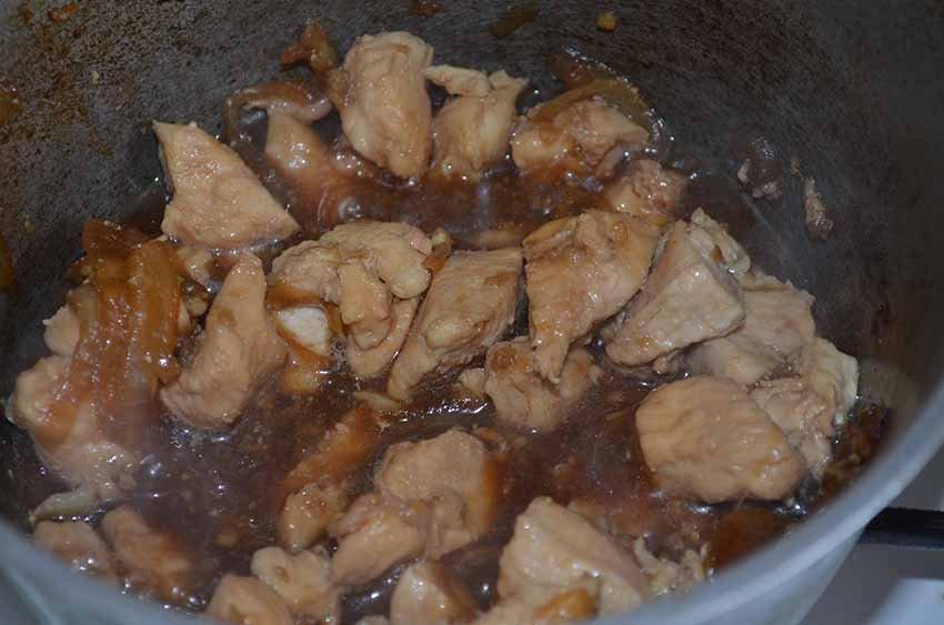 Быстрая курица по-китайски с соевым соусом - пошаговый рецепт