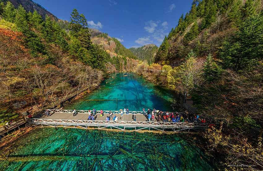 Долина Ридзе (Жицзэ), Китай