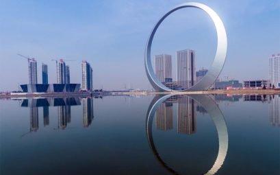 Город Шеньян в Китае