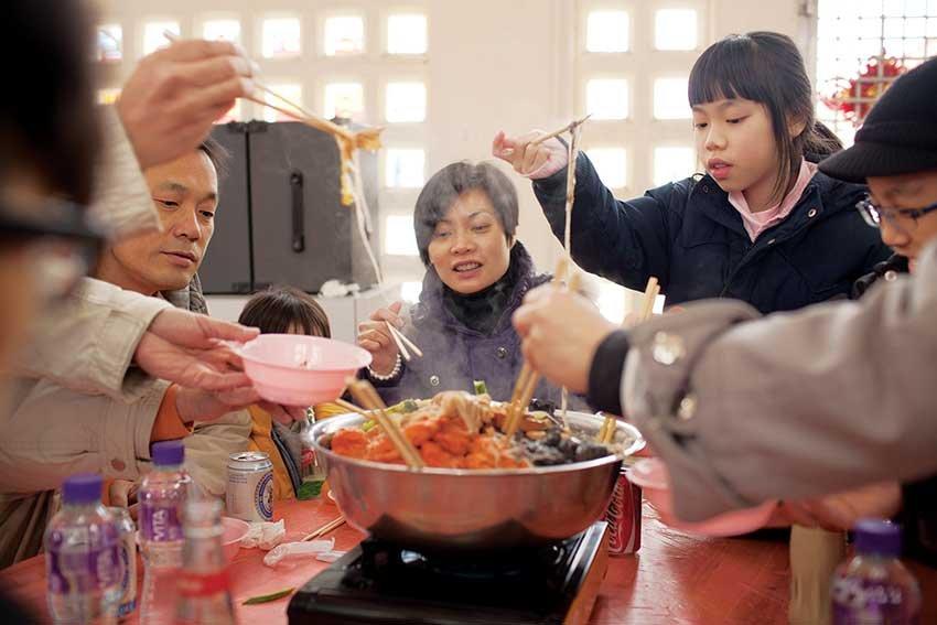 Новогоднее меню китайцев, что в Китае готовят едят на новый год