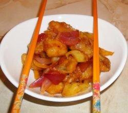 Рыба в кисло-сладком соусе по-китайски - пошаговый рецепт