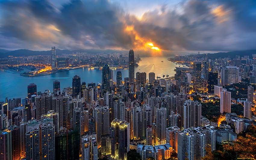 Гонконг - город миллионник в Китае