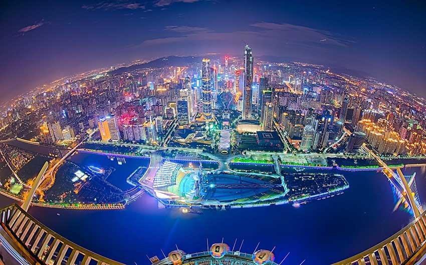 Гуанчжоу - город миллионник в Китае