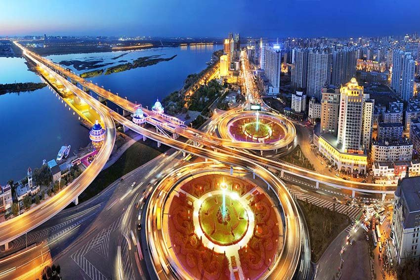 Харбин - город миллионник в Китае