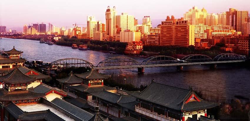 Ланчжоу - город миллионник в Китае