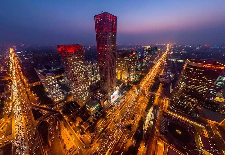 Пекин - город миллионник в Китае