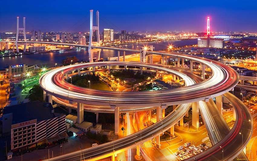 Шанхай - город миллионник в Китае