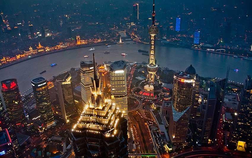 Города центрального подчинения в Китае - Шанхай