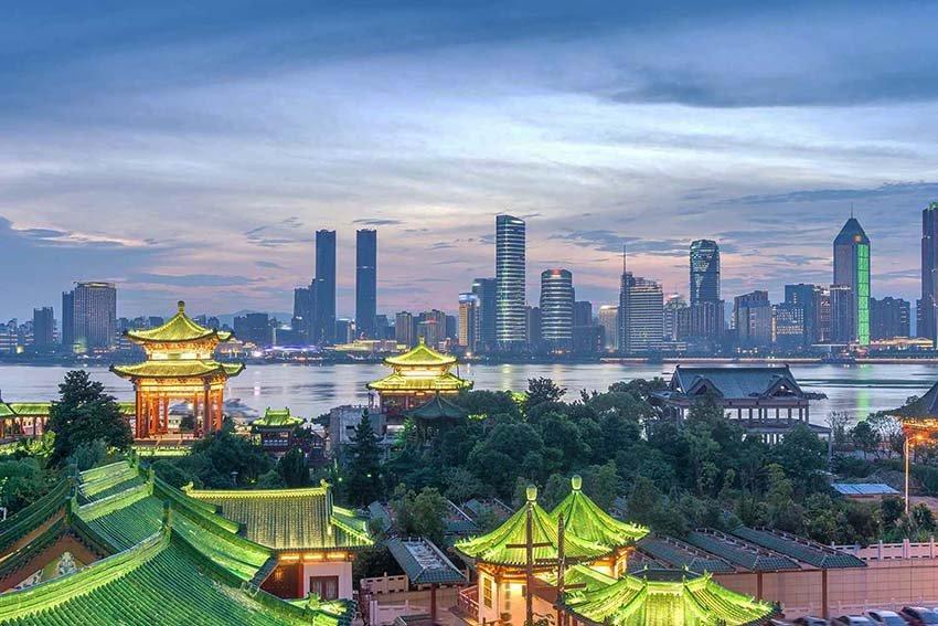 Шенчжэнь - город миллионник в Китае