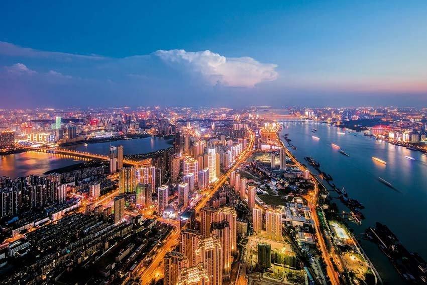 Ухань - город миллионник в Китае