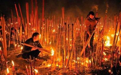 Чем принято в Китае изгонять злых духов