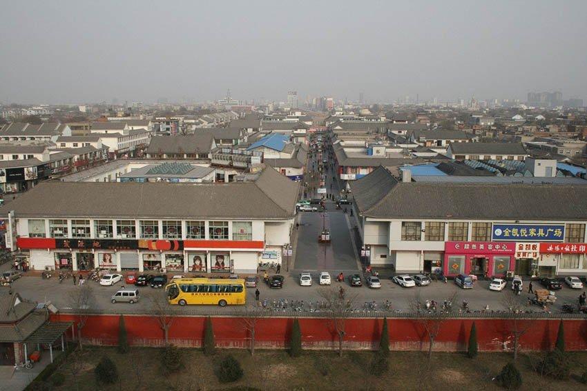 Аньян - древний город в Китае