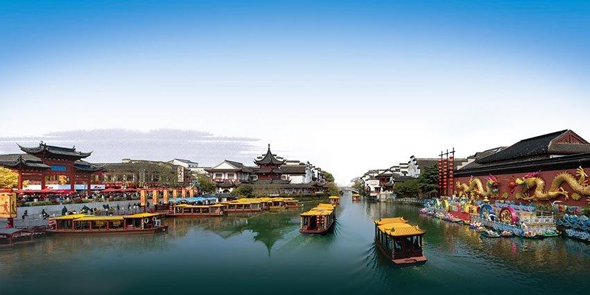 Река Циньхуай Китай