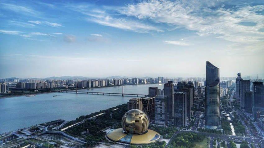 Ханчжоу - древний город в Китае