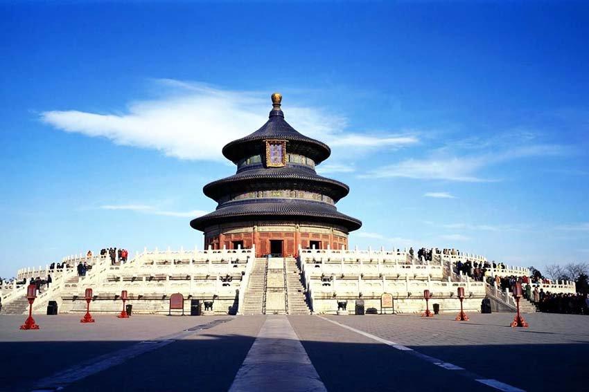 Почему Китай называют «Поднебесной» - Храм неба в Китае