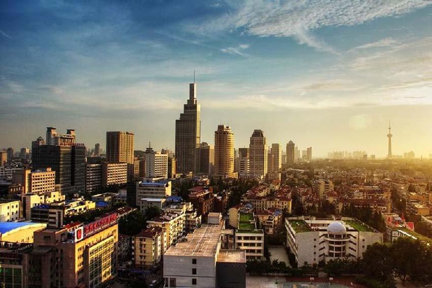 Нанкин - древнейший город в Китае