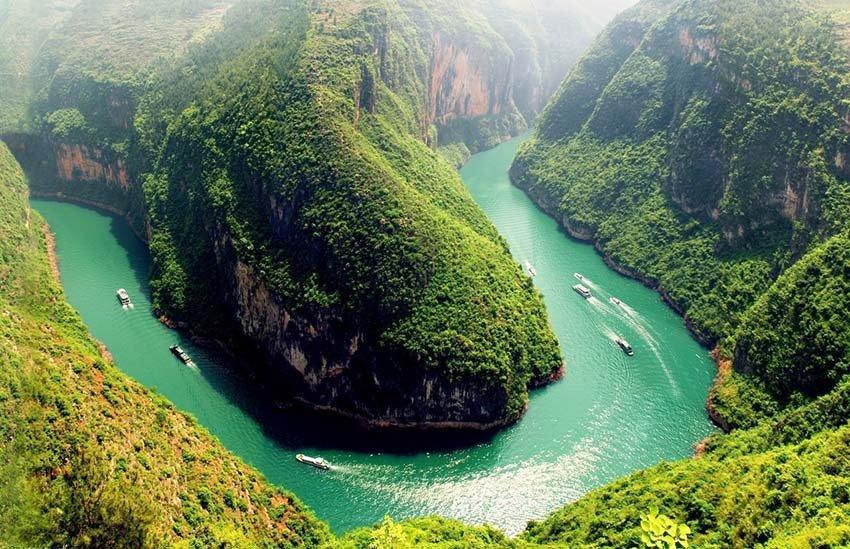 Река Янцзы Китай