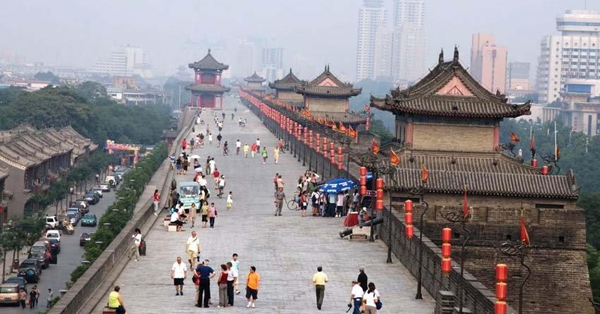 Сиань - древнейший город в Китае